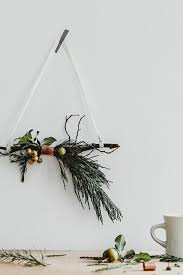 twig wreath diy to try copper and twig wreath do it yourself projects lonny