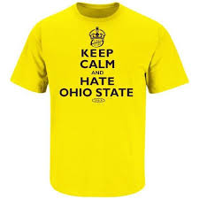 michigan wolverines fan gear michigan wolverines fans keep calm and ohio state t shirt