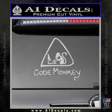 grey css code monkey css java html d1 decal sticker a1 decals