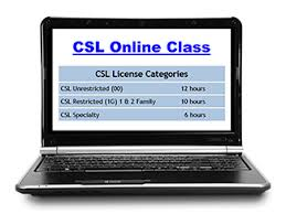 6 hours class online construction supervisor institute massachusetts csl con t education