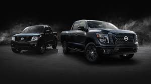 nissan truck frontier nissan midnight edition will offer blacked out looks for titan and