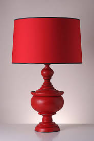 another option from the stupa series is this stupa red table lamp