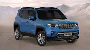 jeep renegade light blue 2018 jeep renegade changes carbuzz info