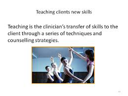 Skills And Techniques Used In Counselling Certificate In Basic Counselling Skills For Health Professional