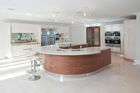 curved kitchen island designs 20 beautiful curved kitchen bars home design lover