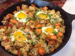 post thanksgiving hash and eggs
