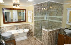 Bathroom Shower Systems Beautiful Bathroom Remodel W Onyx Shower System And Tile Condon