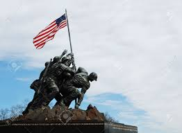 Flag Iwo Jima Iwo Jima Memorial Near Arlington National Cemetery In Rosslyn