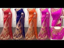 half saree designs designer saree blouse designs today