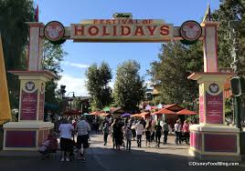 look and review festival of holidays at disney california