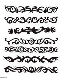 tribal armband tattoos designs best design