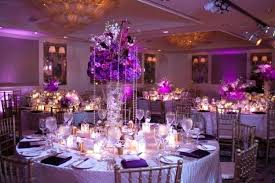 purple decorations purple wedding table decoration fijc info