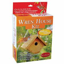 House Kit by Duncraft Com Wren Bird House Kit