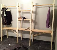 free standing clothes closet closet ideas