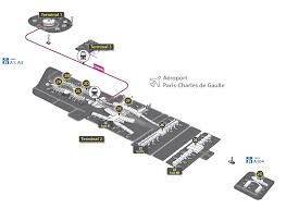 Airport Terminal Floor Plans by Airport Terminal Maps Paris Cdg Charles De Gaulle Airport