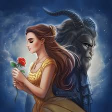 beauty and the beast 2017 based on poster from the brand new