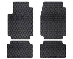 mustang mats intro tech hexomat front and rear floor mats for 1979 1981 ford