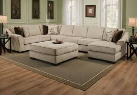sofa stunning sectional sofa with oversized ottoman contemporary