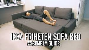 Full Review Of The IKEA FRIHETEN Sofa Bed Is Available Here Https - Sofa bed assembly