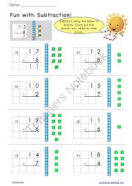 grade 1 math worksheets making math visual free printables