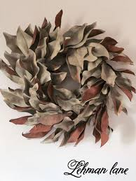 How To Make Wreaths Diy How To Make A Wreath Using Dried Magnolia Or Fresh Magnolia