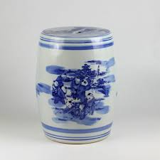 Ceramic Side Table Ryaz341 Chinese Blue White Ceramic Side Table Stools U2013 All
