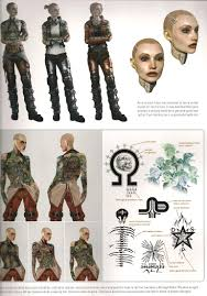 a closer look at jack u0027s tattoos from the mass effect universe art