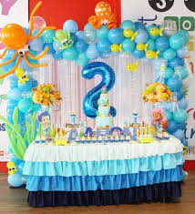 birthday party ideas guppies party themes finding nemo ba shower cake ideas