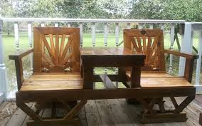 Patio Table Decor Best Wood For Outdoor Furniture Decor Us House And Home Real