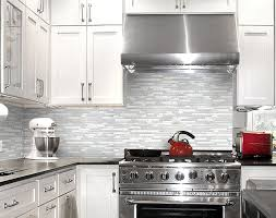 kitchens with glass tile backsplash amazing kitchen with white glass backsplash my home design journey