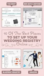 wedding registry online 10 of the best places to set up your wedding registry online