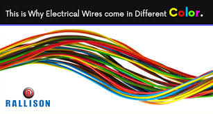 what role does different color of wires play in electric circuits