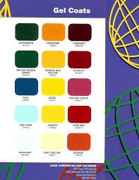 stuart marine corp gel coat colors