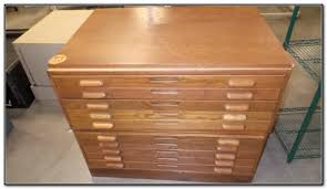 Wood Flat File Cabinet Used Wooden Flat File Cabinet Cabinet Home Decorating Ideas
