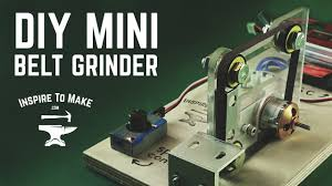diy belt sander machine world smallest belt grinder how to