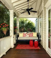 patio ideas traditional porch design with black porch swings