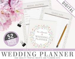 of honor planner ultimate of honor wedding planner organizer kit instant