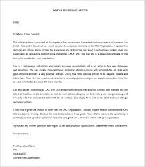 Recommendation Letter Format Exle letter templates 30 free word excel pdf psd format