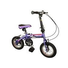 kids motocross bike solar 12 inch folding kids bicycle purple jollymap