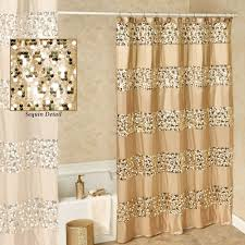 Charcoal Shower Curtain Awesome Bathroom Prestigue Chagne Gold Sequined Shower Curtain