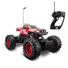 Monster Jam Rug Remote Control 4wd Tri Band Off Road Rock Crawler Rtr Monster