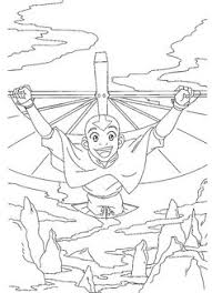 avatar 999 coloring pages cartoons