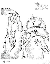 lorax coloring pages pdf lorax coloring pages the the ted put on his helmet coloring pages