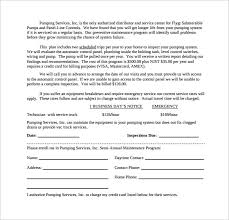 maintenance contract template 10 download free documents in pdf