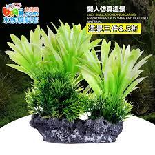 usd 6 17 fish tank ornament coral rock grass simulation of