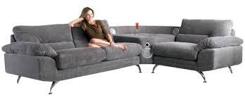 un canapé sound sofa le 1er canapé avec home cinéma intégré mon coin design