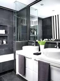 pink and black bathroom decorating ideas cool white design