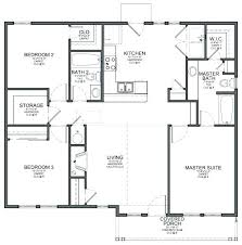 simple 4 bedroom house plans simple rectangular house plan amazing chic 3 simple rectangular 4