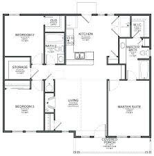 4 bedroom floor plan simple rectangular house plan amazing chic 3 simple rectangular 4