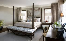 hamptons inspired luxury home master bedroom robeson design san